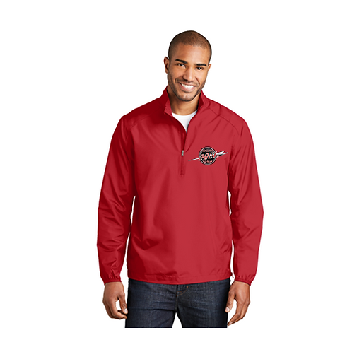 Men's All Weather Pullover, 1/2 Zip Front