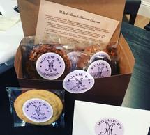 Gift basket of @mollybs cookies