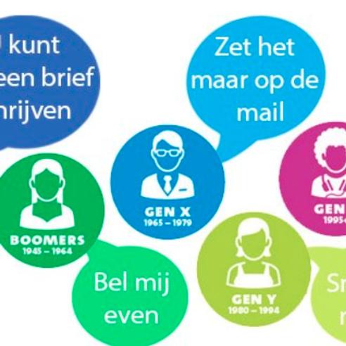 Generatieverschillen op de werkvloer door Aart Bontekoning