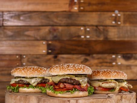 Você viu que mudamos nossos hamburguers?