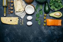 KETOGENIC DIET. Low carbs hight fat prod