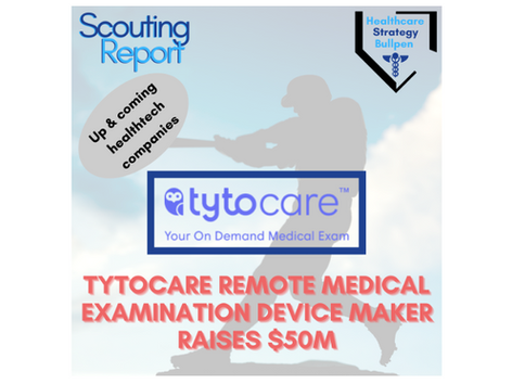 Scouting Report-TytoCare Remote Medical Examination Device Maker Raises $50M