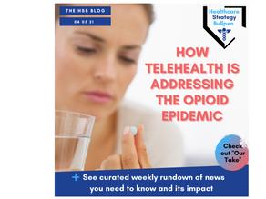 How Telehealth is Addressing the Opioid Epidemic-The HSB Blog 4/5/21