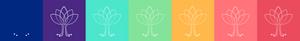 Paleta de cores | Branding Prosperidade Conteúdos