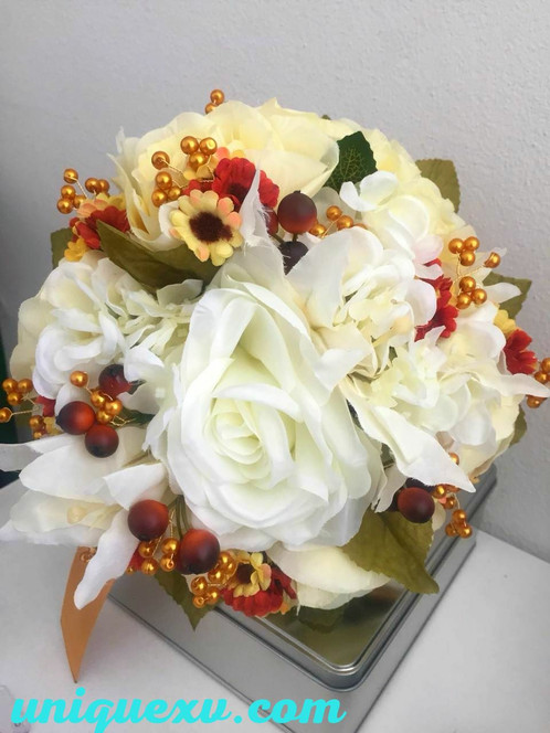 Charro flower bouquet all quinceanera should have a flower bouquet that matches her amazing dress and this beautiful artificial faux flower bouquet is just the perfect topping mightylinksfo