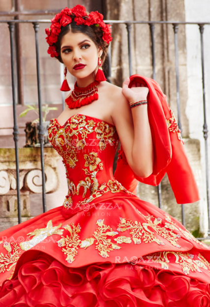 5329cd17b4b Charro Dresses Red15.000 Beautiful Wedding Guest Dress Ideas