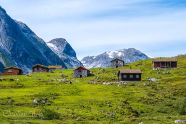 Norwegen Berge