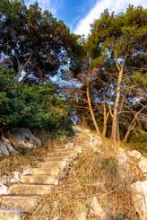Treppe am Meer