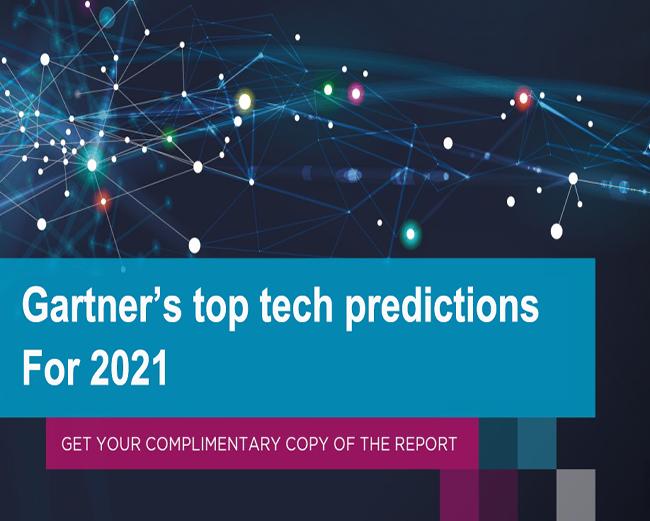 Gartner's top tech predictions for 2021-