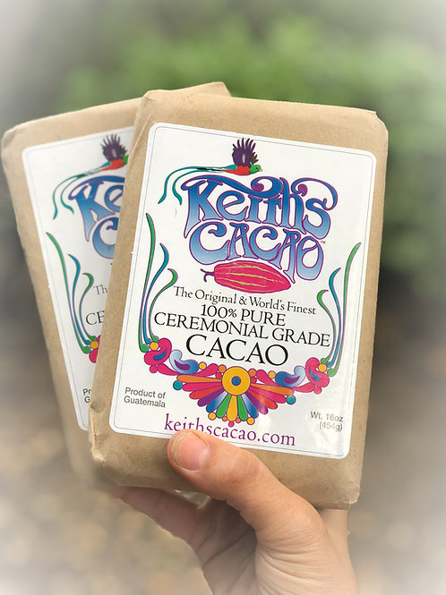Keith's Raw Ceremonial Cacao