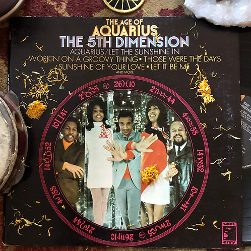 "The 5th Dimension, ""The Age of the Aquarius"" - Vintage Vinyl"