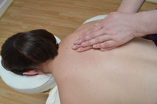 Photo of person having a massage