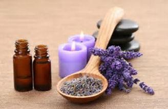 Photo of aromatherapy oils and lavendar