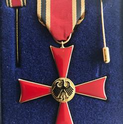Bundes Verdienstkreuz Willy Wiedmann