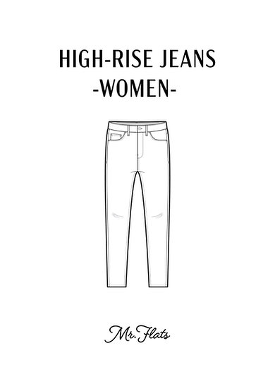 High-Rise Jeans - Women