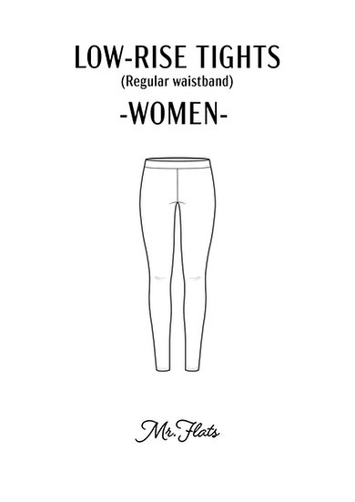 Low-Rise Tights - Women
