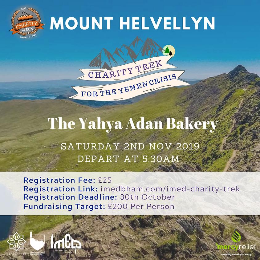 Helvellyn Trek - Charity Week 2019