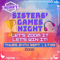 Sisters' Games Night
