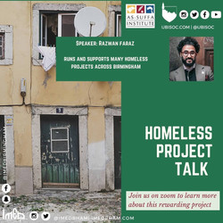 Homeless Project Talk