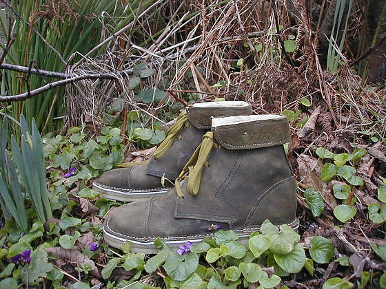 Mans Woodlands Boot with Vibram Non slip sole