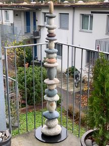 Steinturm Balkon
