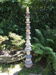 Steinturm Garten