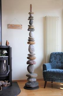 Steinturm Wohnzimmer