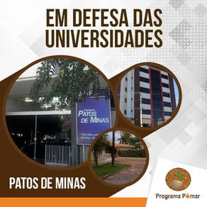 O Programa Pomar e a sua atuação em defesa da Universidade