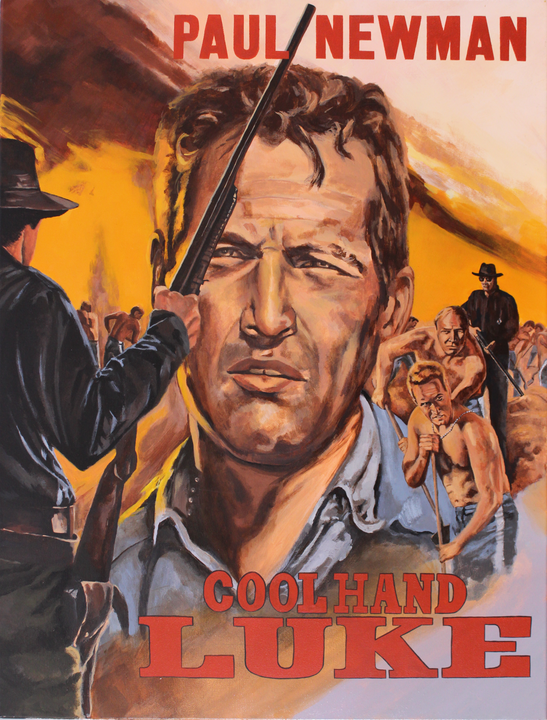 Mascii's Cool Hand Luke Poster Reproduction