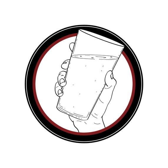 Tilted Glass Logo