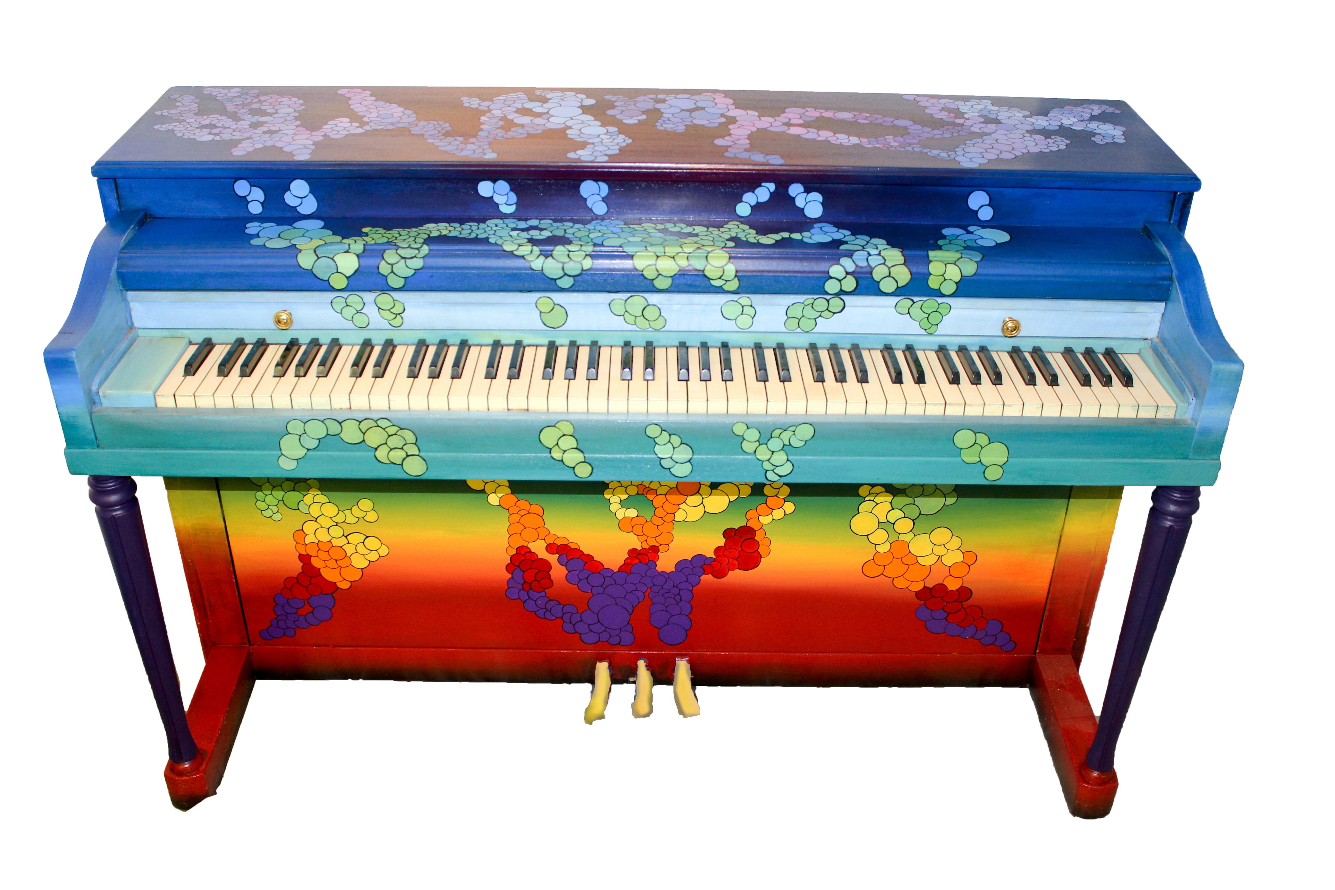 Bubbles Piano 2015
