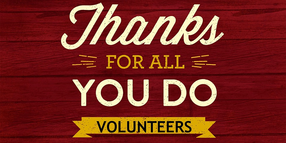 Volunteer Appreciation-Annual Crawfish Boil