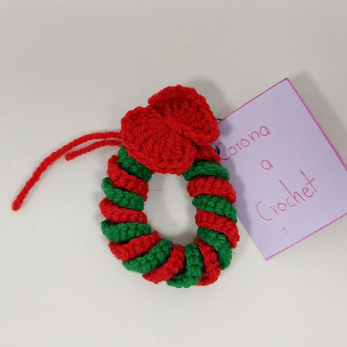 Corona a crochet