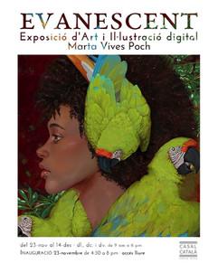 EVANESCENT · exposició d'art digital