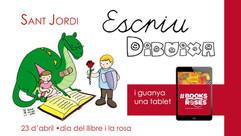 SANT JORDI - dia del Llibre i la Rosa