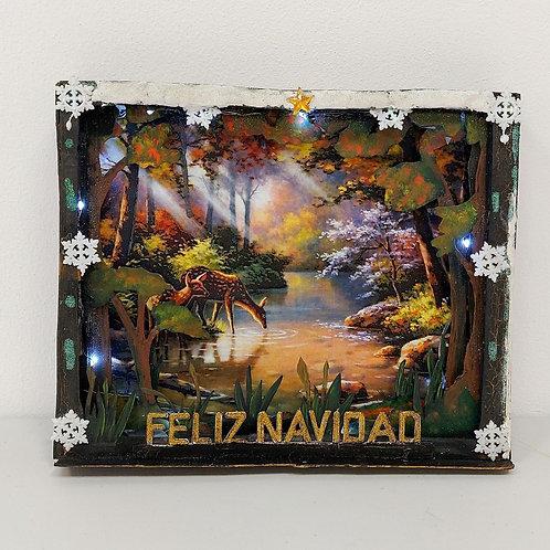 """Decoración """"Navidad en el bosque"""""""