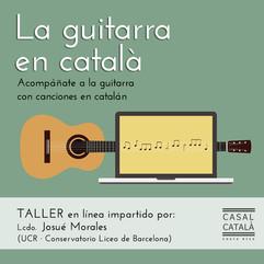 La guitarra en catalán