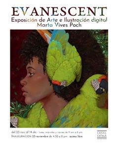EVANESCENT · exposición arte digital
