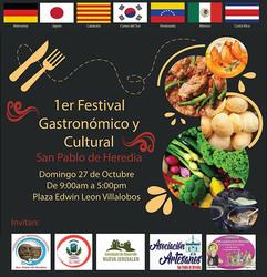 1er Festival Gastronómico y Cultural