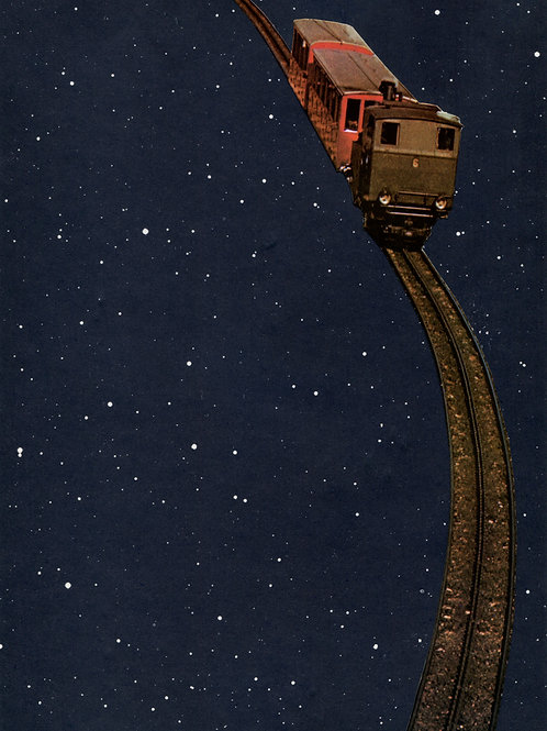Train in the night (poster)