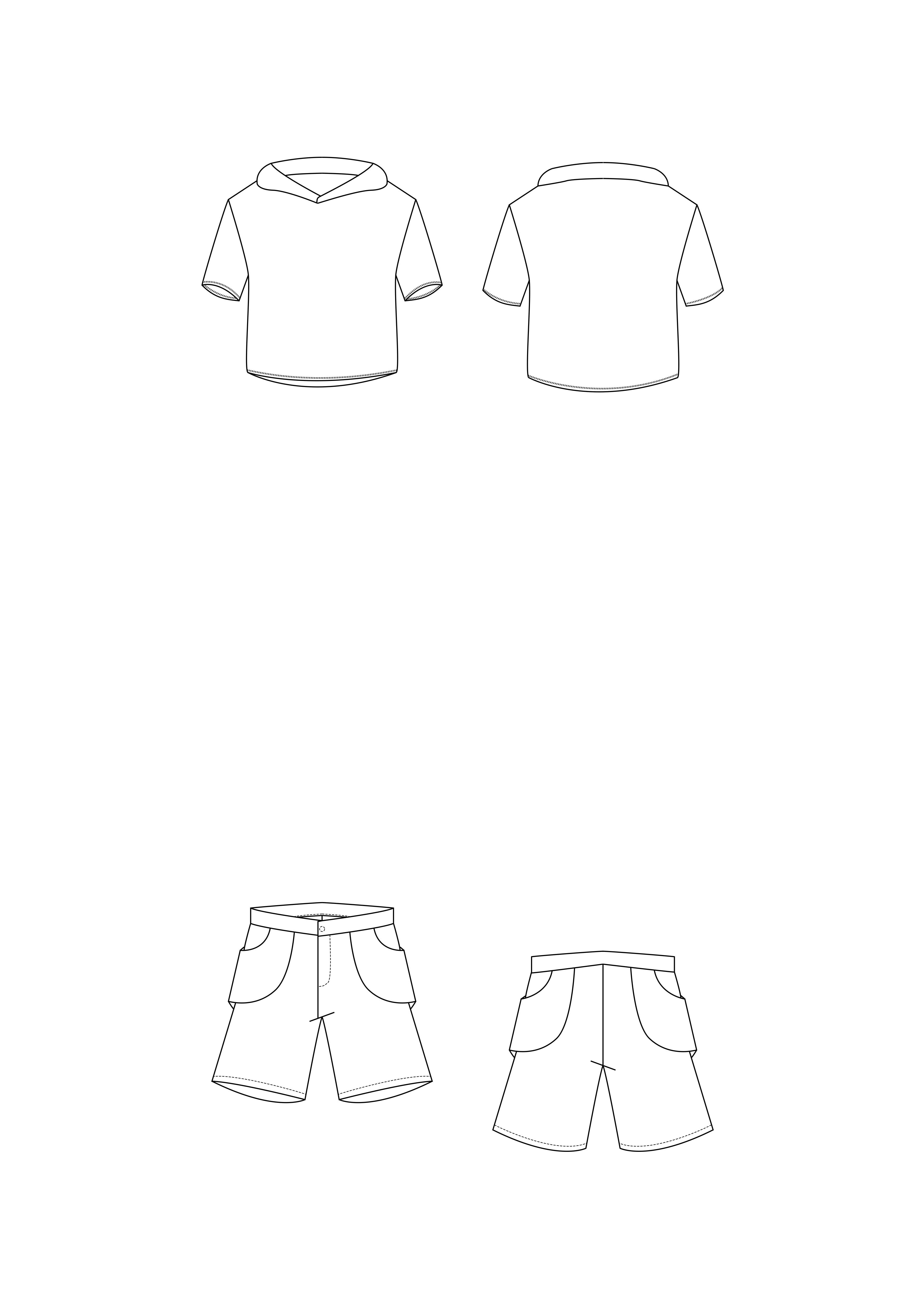 Flat illustrations