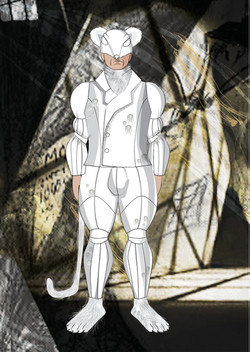 Costume design theater Michal Stern