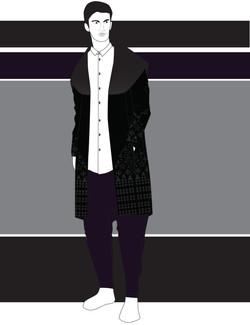 Menswear fashion illustrations