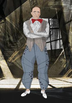 Costume design theater Michal Stern Fashion Illustration