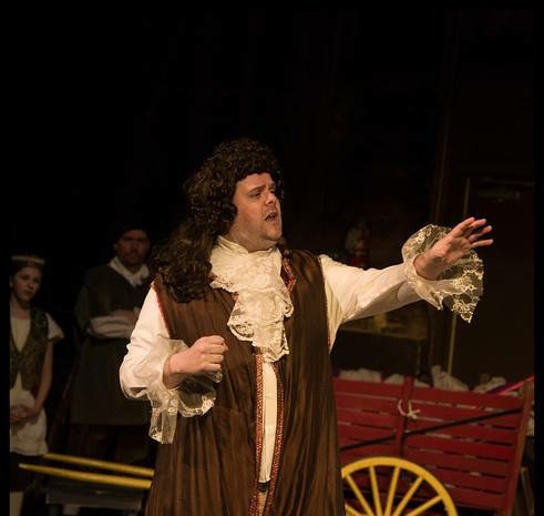 As Dr. Purgeon in THE IMAGINARY INVALID