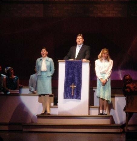 As Rev. Shaw Moore in FOOTLOOSE