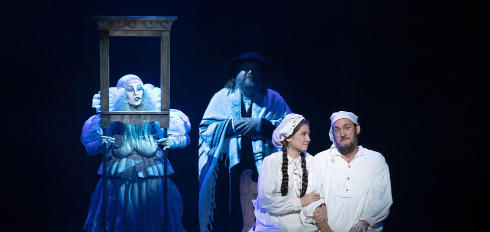 As The Rabbi in FIDDLER ON THE ROOF National Tour directed by Bartlett Sher
