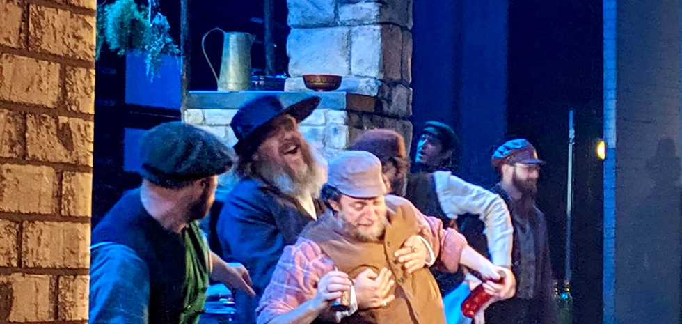 As Lazar Wolf in FIDDLER ON THE ROOF National Tour directed by Bartlett Sher