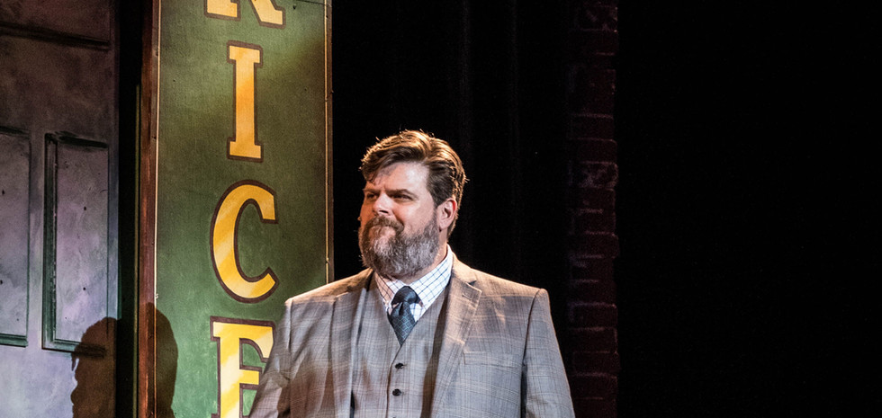 As Mr. Price in KINKY BOOTS for Prather Productions