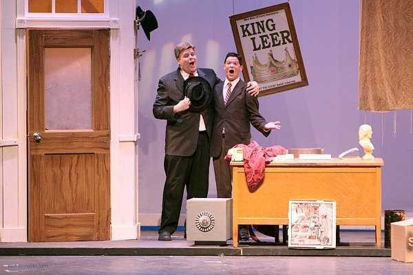 As Max Bialystock in THE PRODUCERS
